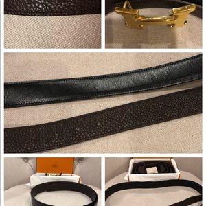 Hermes Accessories - Reversible Hermès belt